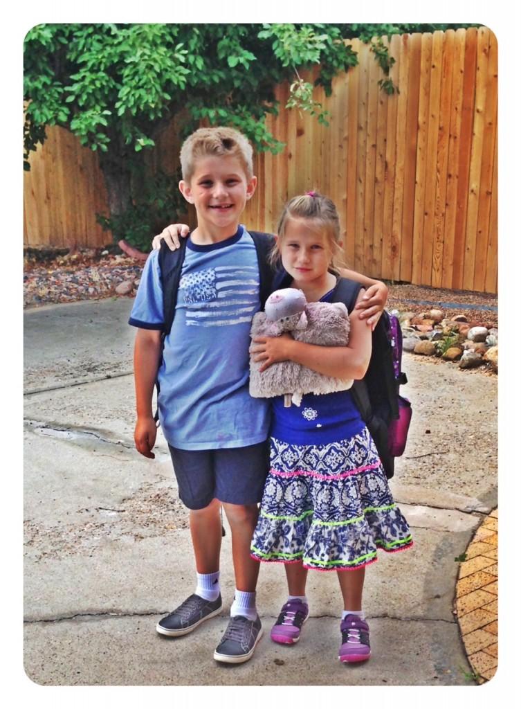 1st day school